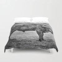 buffalo Duvet Covers featuring Buffalo by davehare