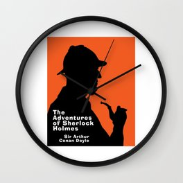 The Adventures of Sherlock Holmes Wall Clock