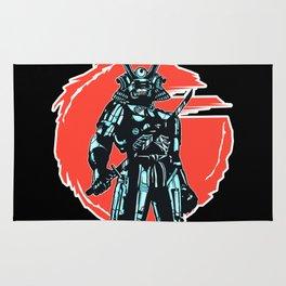 Cybersamurai Rug