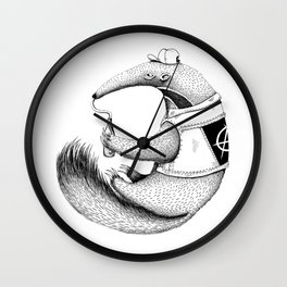 ant-eater Wall Clock