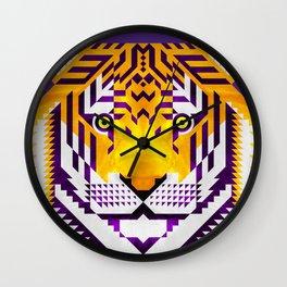 Tiger, LSU version Wall Clock
