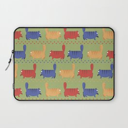 March of fat cats Laptop Sleeve