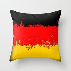in to the sky, germany Throw Pillow