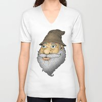 wiz khalifa V-neck T-shirts featuring The Wiz III by Cody Weiler