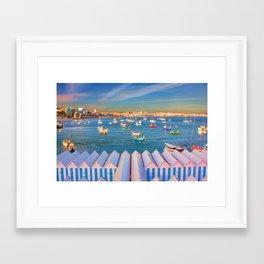 Cascais Summer Framed Art Print