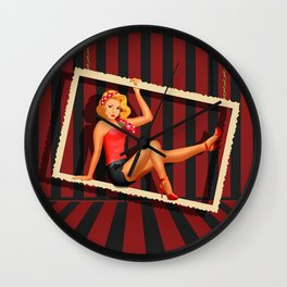 Beauty from the 50s Wall Clock
