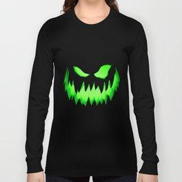 Evil Green ghost Long Sleeve T-shirt