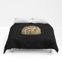 Golden King Tut Comforters