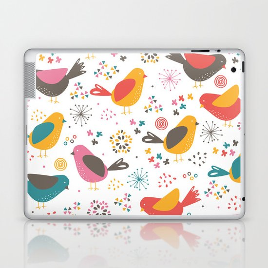 Quirky Chicks Laptop & iPad Skin