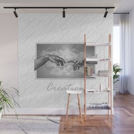 Creation - in Black & White Wall Mural