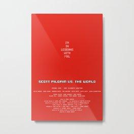 Scott Pilgrim vs. The World - Scott Metal Print