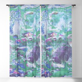 Blossom Waltz Sheer Curtain