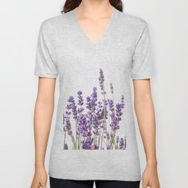 Purple Lavender #1 #decor #art #society6 Unisex V-Neck