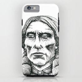 Quanah Parker, Last Chief of the Comanches iPhone Case