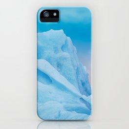 Abstract Blue Icelandic Iceberg iPhone Case