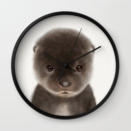 Baby Otter Wall Clock