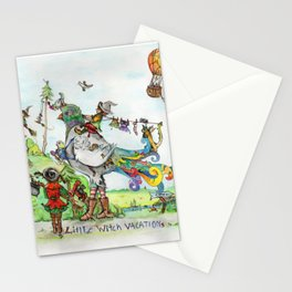 Little Witch Vacation Stationery Cards