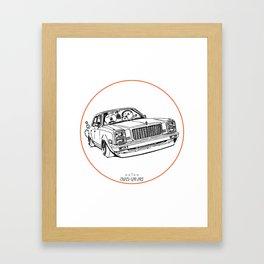 Crazy Car Art 0203 Framed Art Print