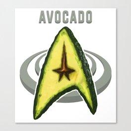 Avocado Trek Canvas Print