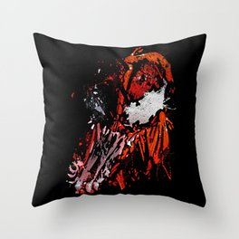 Carnage - Spider-man Throw Pillow
