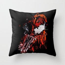Carnage - Spider-man Throw Pillow