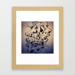 Two-faced Framed Art Print