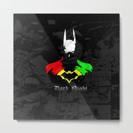 Colorful Heroes Metal Print