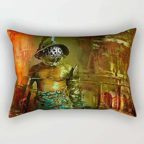 The last gladiator Rectangular Pillow