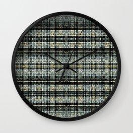 Armor of God Plaid Wall Clock