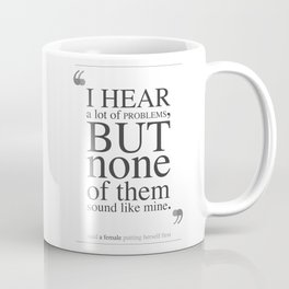 A lot of Problems Coffee Mug