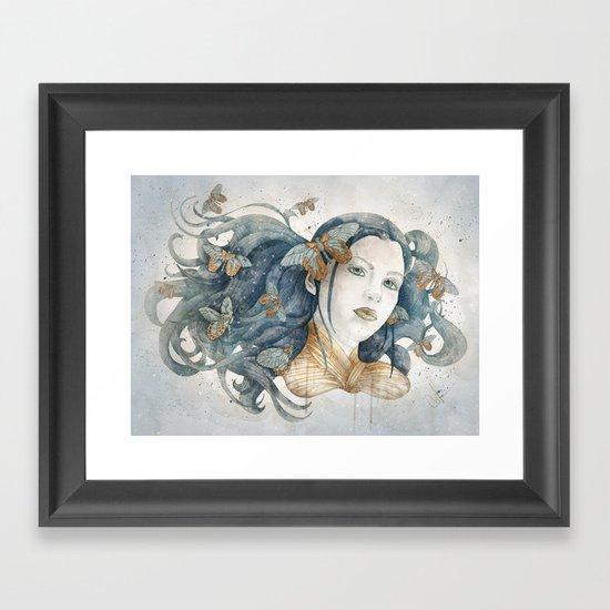Imago stage Framed Art Print