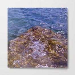 Lake Charlevoix Rocks Metal Print
