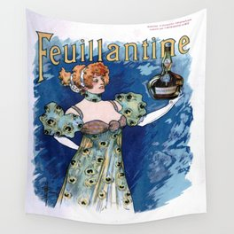 Vintage poster - Feuillantine Wall Tapestry