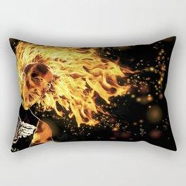 I am the Fire Starter. Rectangular Pillow