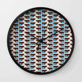Duck wings surface patterns Wall Clock