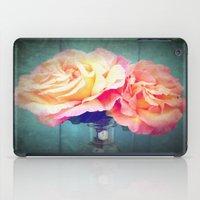 vintage flowers iPad Cases featuring Vintage Flowers by 2sweet4words Designs