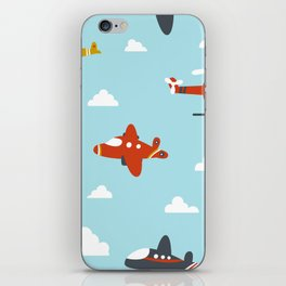 Children's plane iPhone Skin