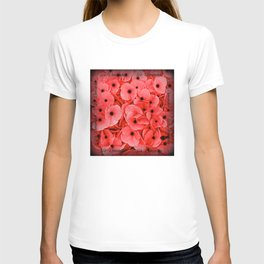 Veterans | Memorial Day | Remembrance Day | We Remember | Red Poppies | Nadia Bonello T-shirt