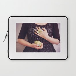 A butterfly ring Laptop Sleeve