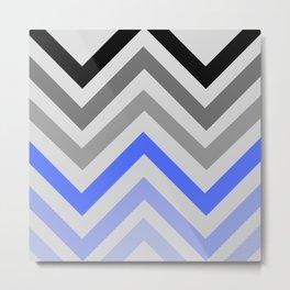 zig ag pattern Metal Print