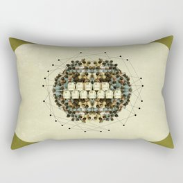 Human Network Rectangular Pillow