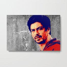 Shah Rukh Khan Metal Print
