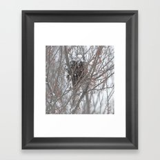 Home amoung the berries  Framed Art Print