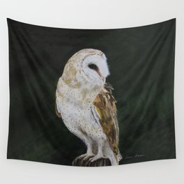 Jazz The Barn Owl by Teresa Thompson Wall Tapestry