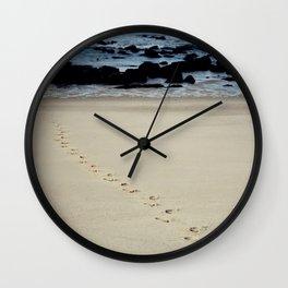 Sand Trails Wall Clock