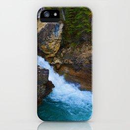Beauty Creek & Stanley Waterfalls in Jasper National Park, Canada iPhone Case