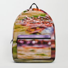 Water Art Colourful Backpack