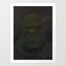 Shrek Art Print