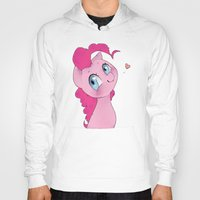 mlp Hoodies featuring Pinkie Pie MLP Cuteness by oouichi