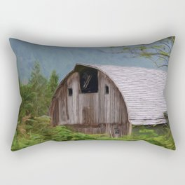 Middle Of Nowhere - Country Art Rectangular Pillow